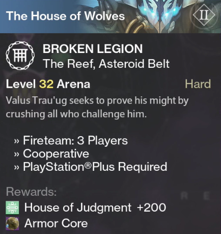 no matchmaking prison of elders The new prison of elders challenges will require guardians to duke it out with taken in a level 41 challenge matchmaking will be available for this challenge, which bungie recommends guardians above light level 260 to attempt to take on.