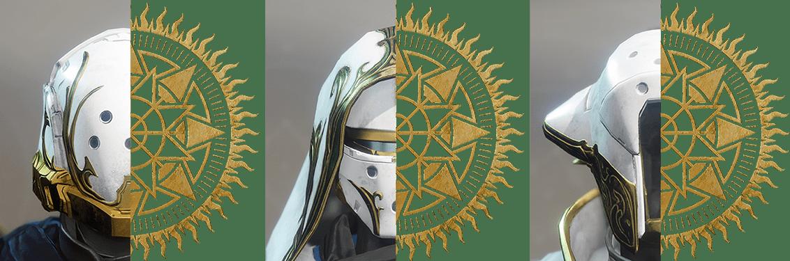 Armaduras del Solsticio de Héroes