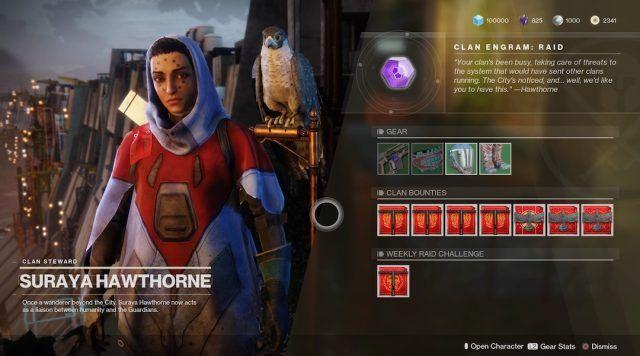 Destiny 2 contratos de clan