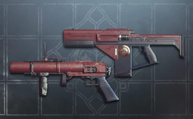 Estandarte de Hierro Armas T6